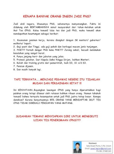 Software Soal Cpns Pdf Document