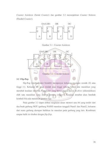 Bab Iii Counter Modulus N Counter 2 Gambar 3 6 Moore Machine Gambar 3 7 Dari Pdf Document