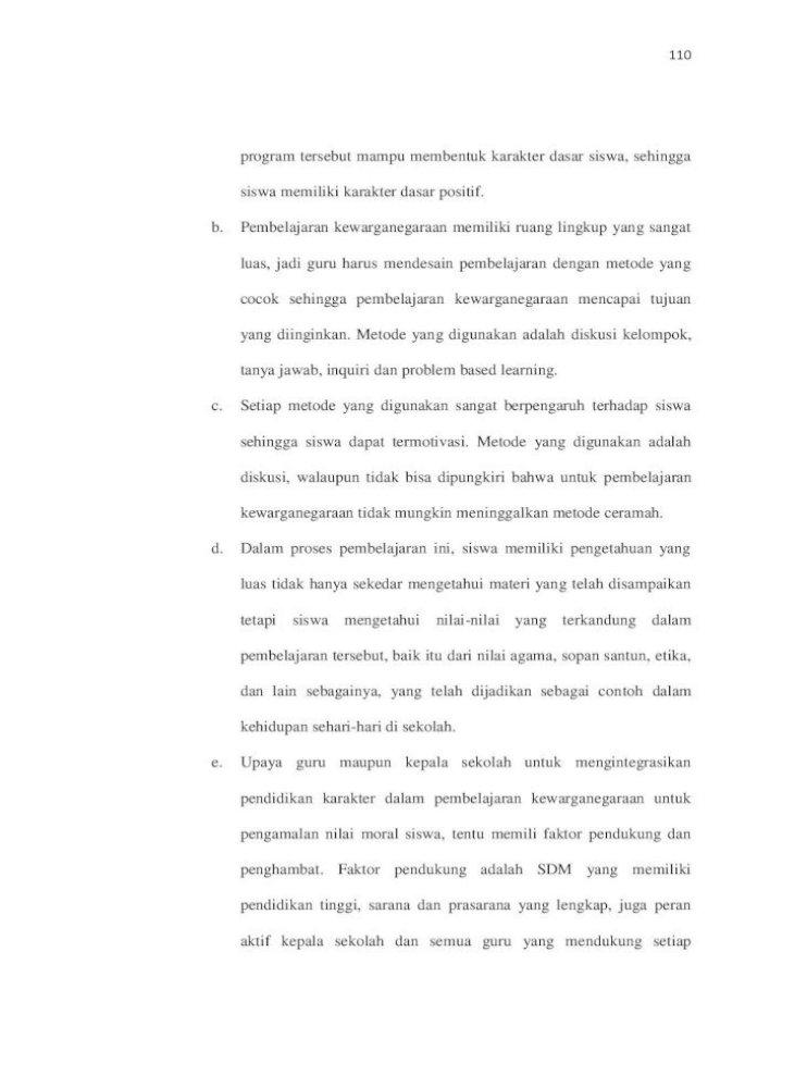 Bab V Kesimpulan Dan Saran A Bab V Dan Daftar Pustaka Lampiran Pemberian Contoh Pada Pdf Document