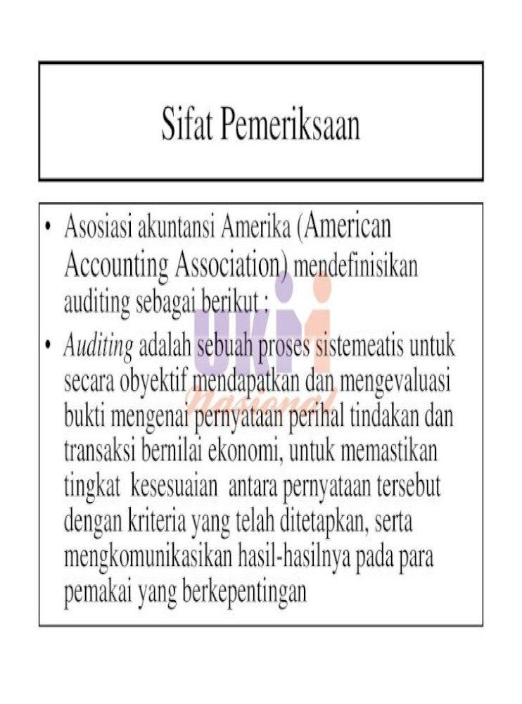 Audit Sistem Informasi Berbasis Komputer Nur Ainy Informasi Operasional Dan Atas Pengendalian Pdf Document