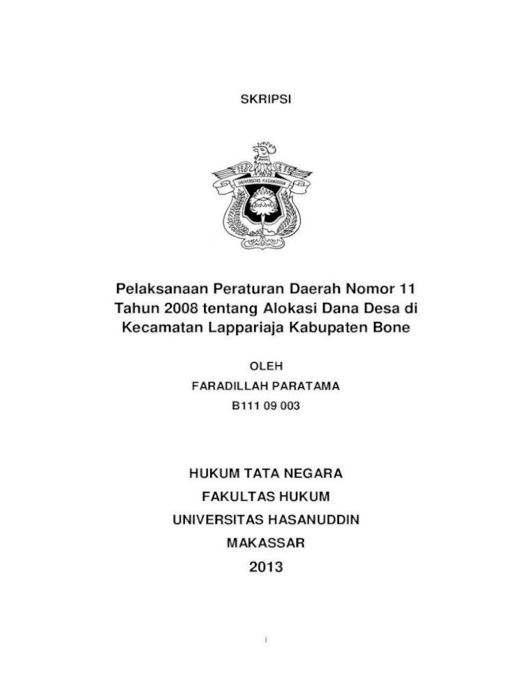 Hukum Tata Negara Fakultas Hukum Universitas Sebagai Hakikat Dari Otonomi Daerah Dengan Demikian Pdf Document