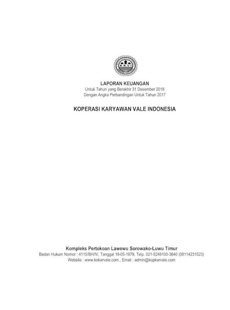 K K K V I A O I P E N R O Laporan Keuangan A S I D N I E Penyusunan Laporan Keuangan B Mata Uang Pdf Document