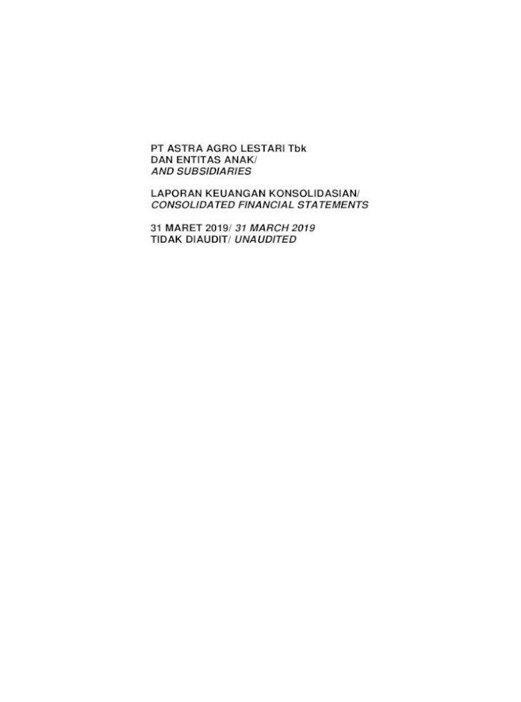 Pt Astra Agro Lestari Tbk Dan Entitas Anak And Cakrawala Based On Notarial Deed No 12 Of Ny Rukmasanti Pdf Document