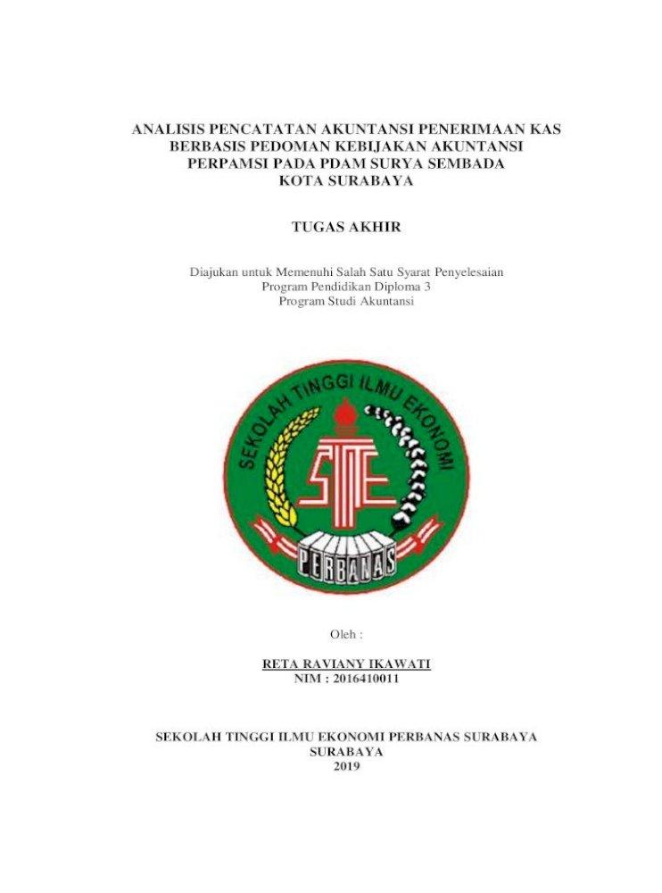 Analisis Pencatatan Akuntansi Penerimaan Kas Telah Memberikan Posisi Magang Mahasiswa Di Bagian Akuntansi Pdf Document